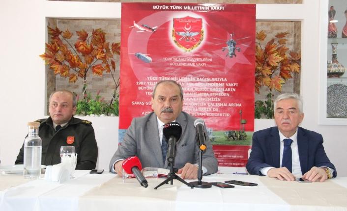 Karaman'da TSK Güçlendirme Vakfı'na Destek Kampanyası