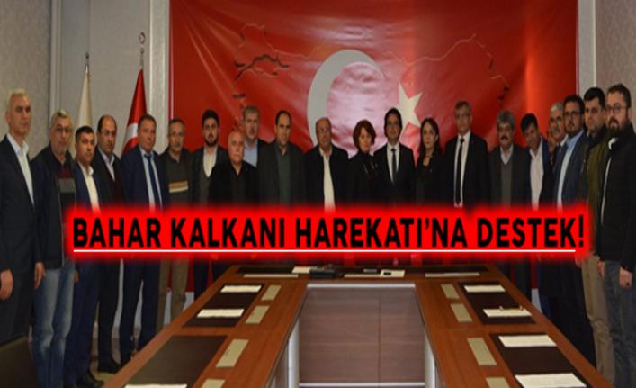 """Karaman'ın Tüm Sivil Toplum Kuruluş'larından """"Bahar Kalkanı Harekatı`na"""" Tam Destek"""
