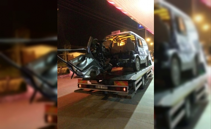 Karaman,Mut Karayolunda Trafik Kazası:4 Yaralı