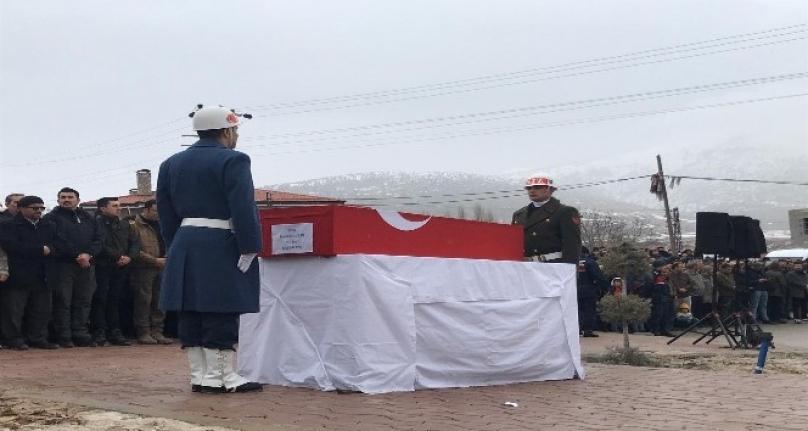 Konyalı İdlib Şehidi Son Yolculuğuna Uğurlandı