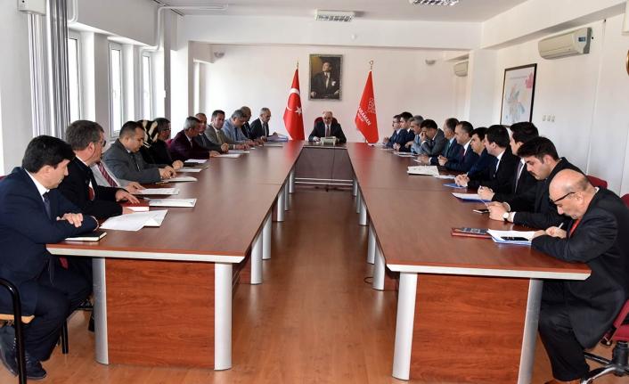 MAKS Veri Üretimi ve Yaygınlaştırma Çalışmaları Kapsamında Toplantı Yapıldı