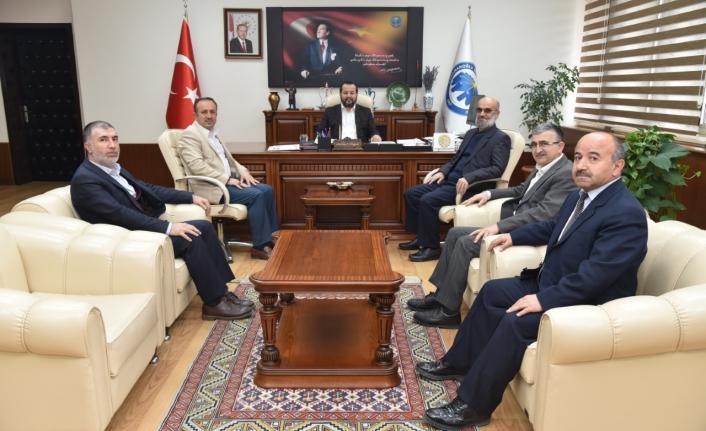 Önder'den Rektör Akgül'e Ziyaret
