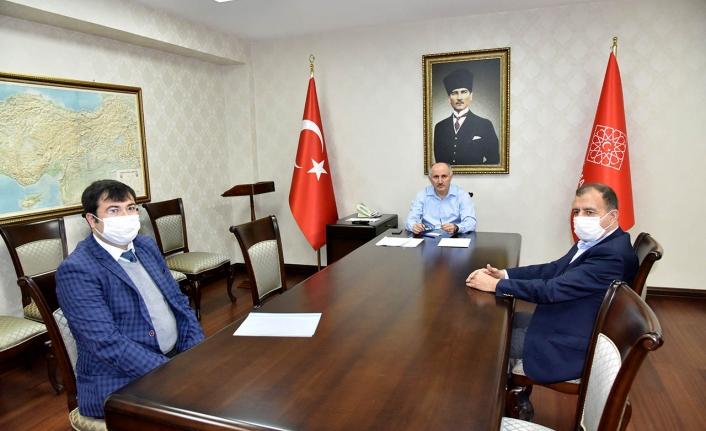 OSB Yönetimin Kurulu Başkanı ile Değerlendirme Toplantısı Yapıldı