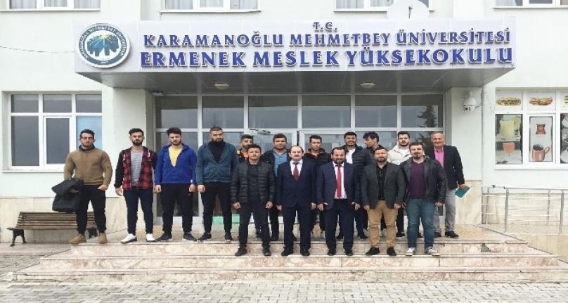 Rektör Akgül, Ermenek Myo'da Personel Ve Öğrencilerle Buluştu