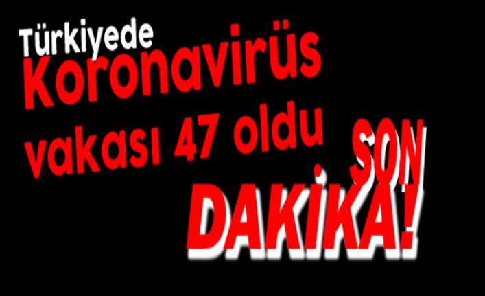 Türkiye'de Korona Virüs Vaka Sayısı 47'ye Yükseldi