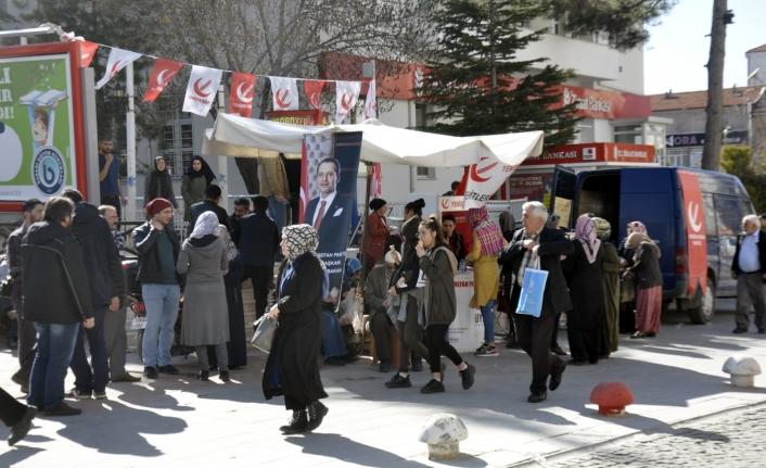 Yeniden Refah Partisi Şehitlerin Anısına Lokma Dağıttı