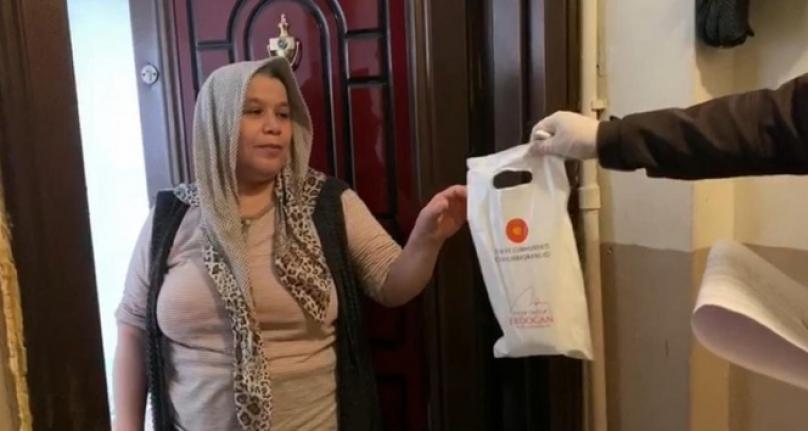 Cumhurbaşkanı Erdoğan'ın Açıkladığı Kolonya ve Maske Dağıtımı Başladı