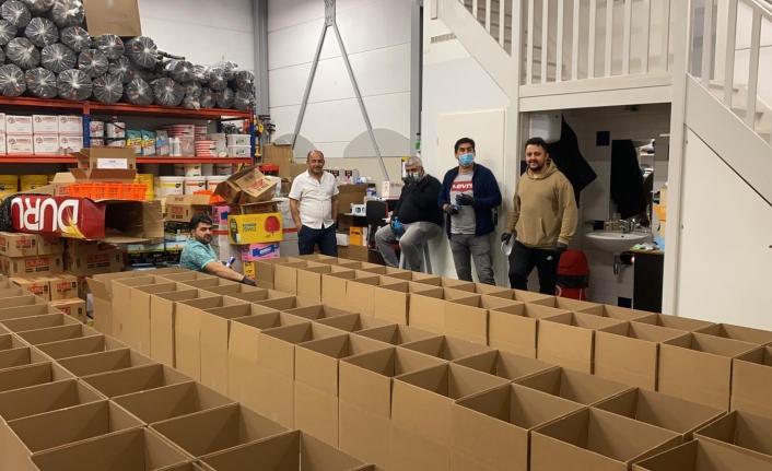 HOKAF'tan Ramazana Özel Gıda Kolisi Yardımı