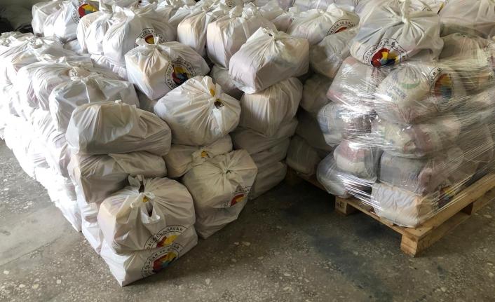 Karaman Ticaret Borsasından Gıda Yardımı