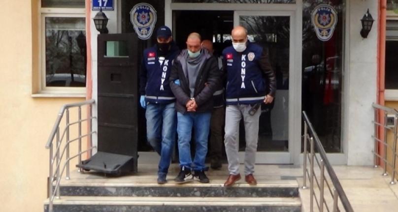 Konya'da 3 Arkadaşını Öldüren Zanlı Adliyeye Sevk Edildi