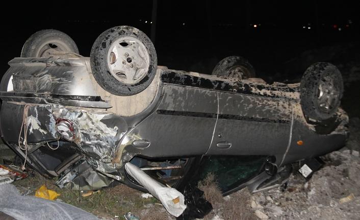 Otomobilin Sürücüsü Olay Yerinde Öldü