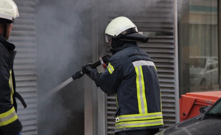 Karaman'da Jeneratör Yangını