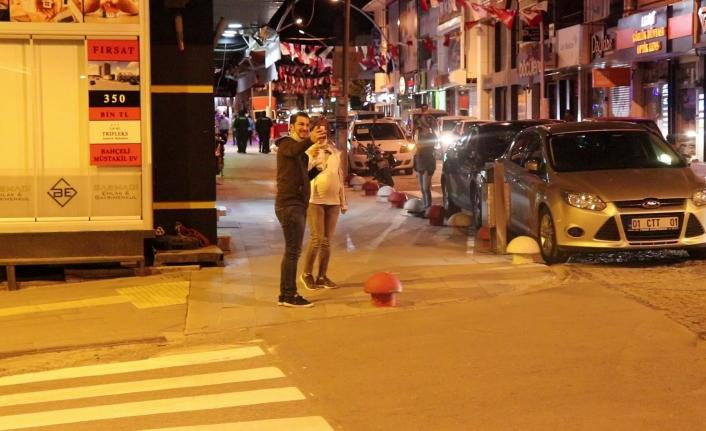 Karaman'da Kısıtlama Sonrası Sokaklarda Yoğunluk Yaşandı