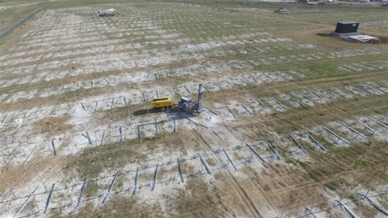 Türkiye`nin En Büyük Güneş Enerji Santrali Karaman`da Kuruluyor