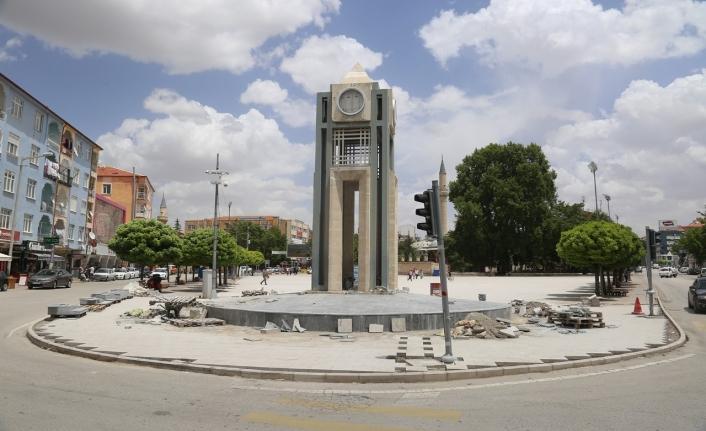 Belediye'den Aktekke Meydanında Çözüm Odaklı Çalışma
