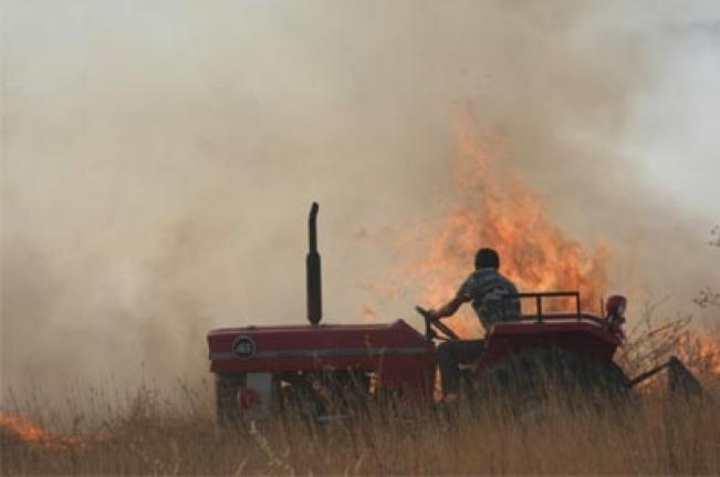 Biçerdöver Dane Kayıplarına ve Anız Yangınlarına Dikkat