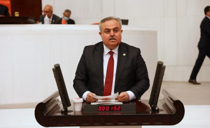 Karaman Milletvekili Şeker TBMM'de Konuşma Yaptı