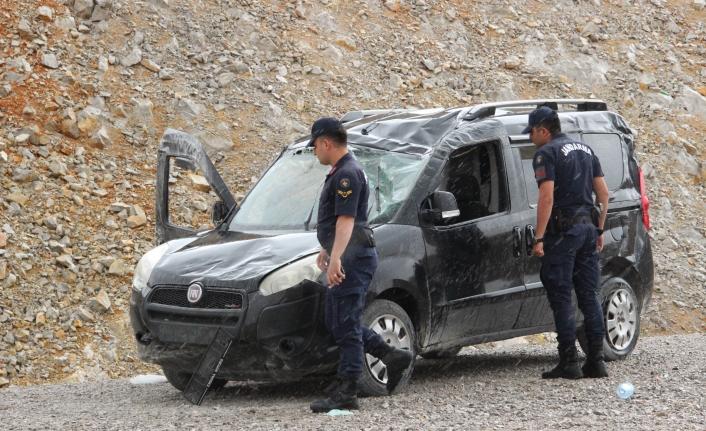 Karaman'da Kontrolden Çıkan Araç Takla Attı: 1 Yaralı