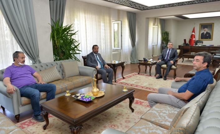 Rektör Akgül'den Vali Işık'a Hayırlı Olsun Ziyareti
