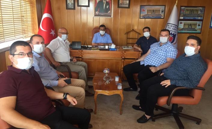 CHP Teşkilatı'nın Ticaret Borsa Ziyareti