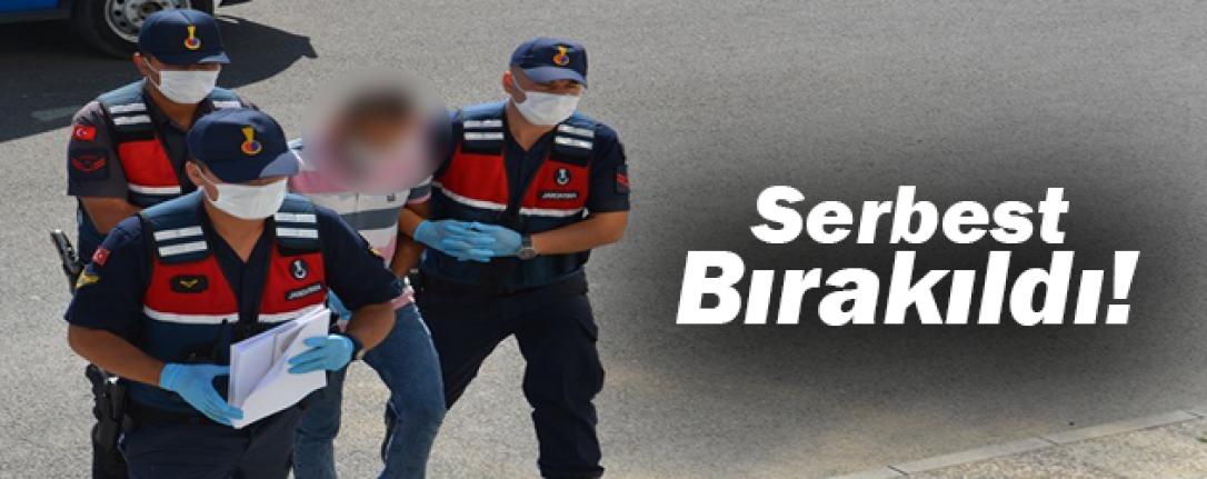 Hırsızlıktan Gözaltına Alınan Şahıs Serbest Bırakıldı