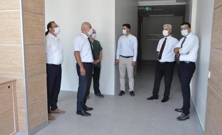 Karaman'da Acil Servis Yoğun Bakımı Hizmete Girdi