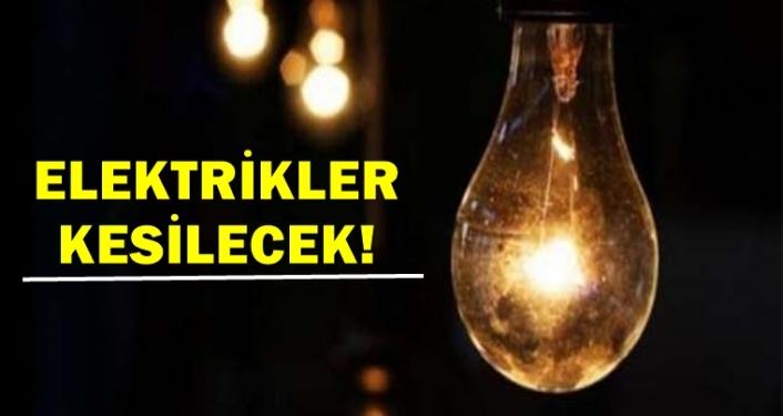 Medaş'tan Karaman'da Proğramlı Elektrik Kesintisi