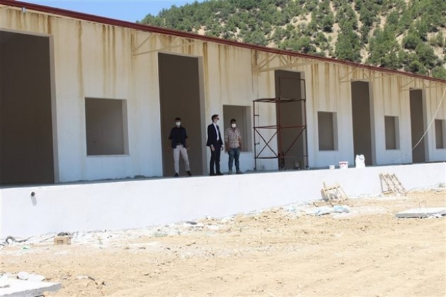 Ermenek'te Yapımı Bittiğinde Üç İlçenin İhtiyacını Karşılayacak