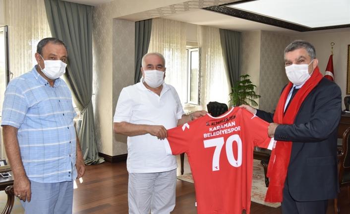 Karaman Belediyespor'dan Vali Işık'a Ziyaret