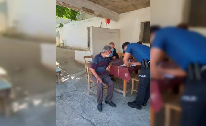 Karaman'da Oyun Oynayan 19 Kişiye Para Cezası Kesildi