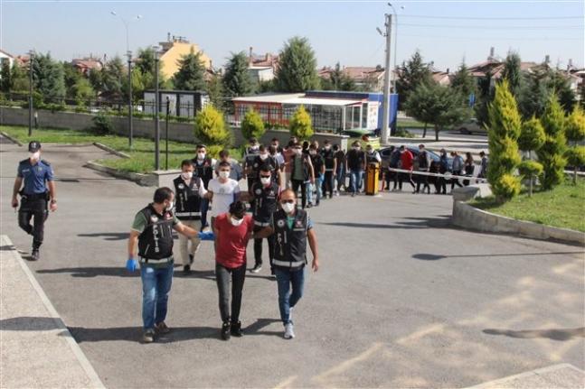 Karaman'da Son Yılların En Büyük Operasyonu: 14 Gözaltı