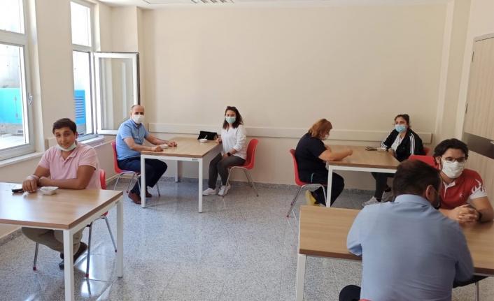 Ayrancı'da Sağlık Çalışanlarına Aşure İkramı