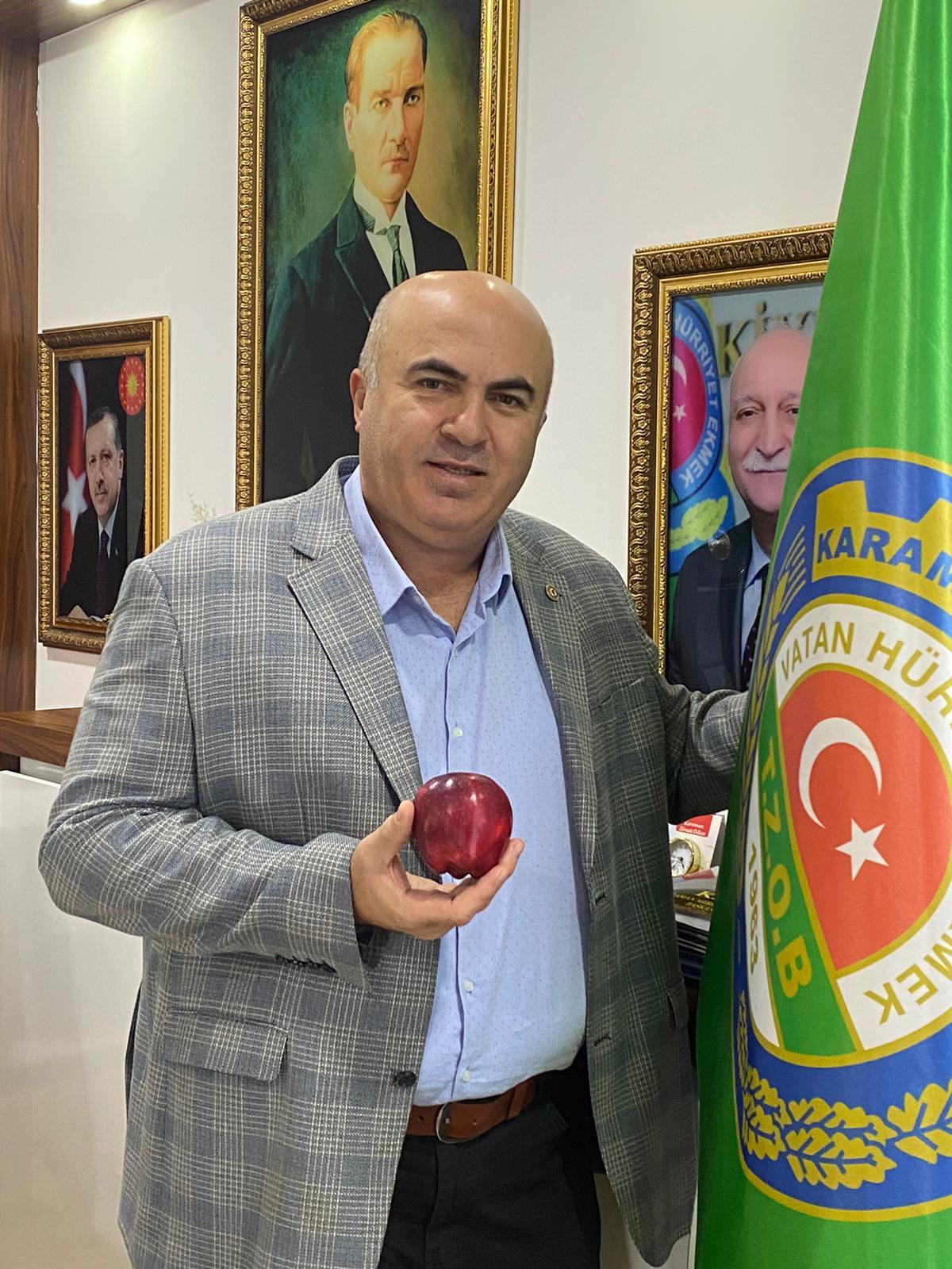 Başkan Bayram'dan Elma Üreticisine Müjde!
