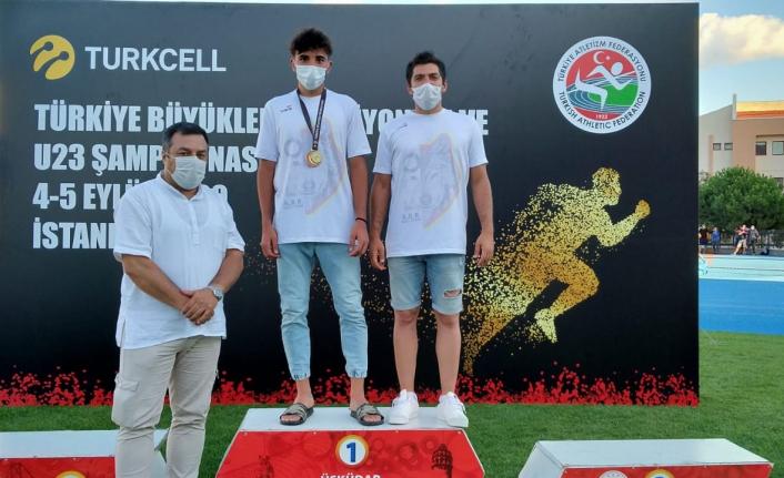 Karamanlı Atlet, Türkiye Şampiyonu Oldu