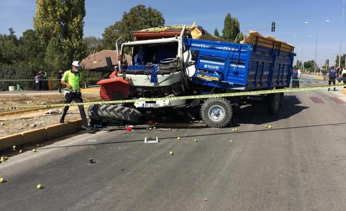 Ereğli Karaman Karayolunda Trafik Kazası: 1 Ölü, 2 Yaralı