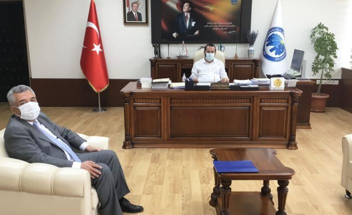 İl Müdürü Şahinbaş Rektör Akgül'ü Ziyaret Etti
