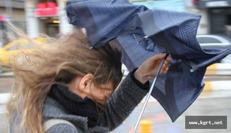 Karaman'a Kuvvetli Rüzgar ve Fırtına Uyarısı!