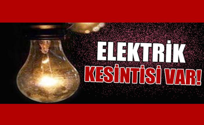 2 Köy'de Elektrik Kesintisi Yaşanacak
