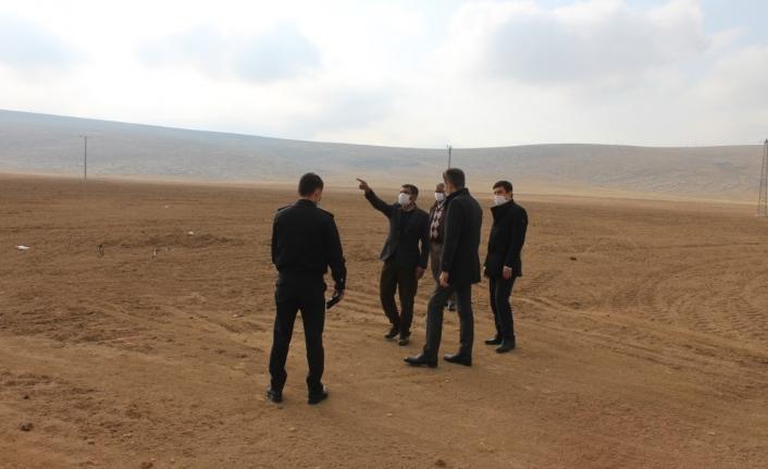 Ayrancı'da Köy Arazileri Yerinde İncelendi