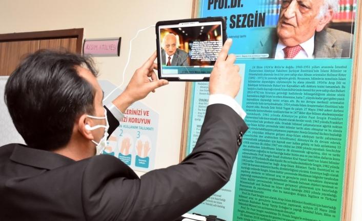 Bu Müzede Öğrenciler Prof. Dr. Fuat Sezgin'i Tanıyacak