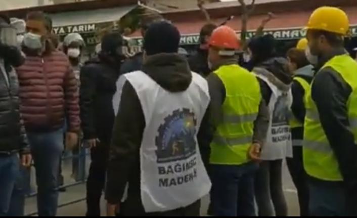 Ermenekli Madencilerin Ankara Yürüyüşüne 30 Gözaltı