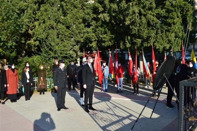 Ermenek'te 10 Kasım Törenleri