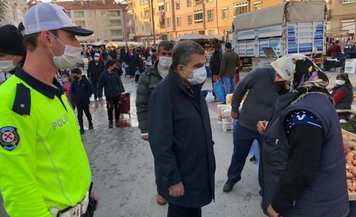 Karaman'da Koronavirüs Denetimleri Sıklaştırıldı