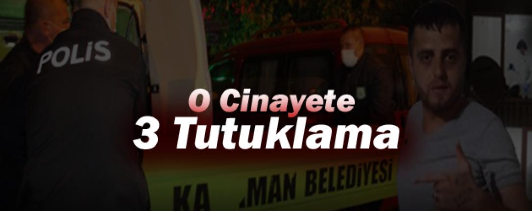 Karaman'da O Cinayete 3 Tutuklama