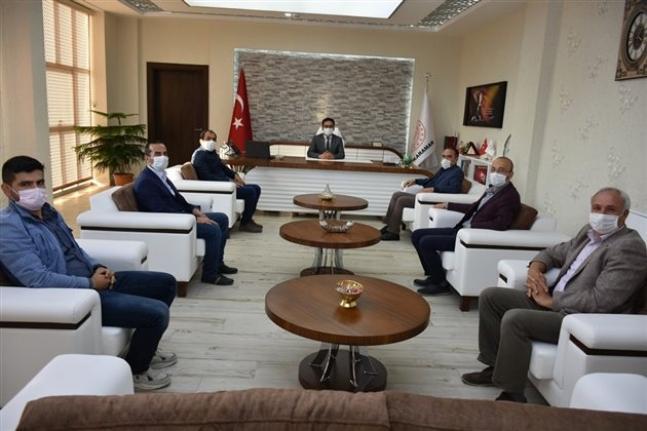 Türk Eğitim Sen'den Çalışkan'a Ziyaret