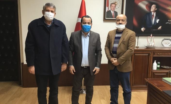 Duru ve Yıldızbaş'tan Rektör Akgül'e Nezaket Ziyareti