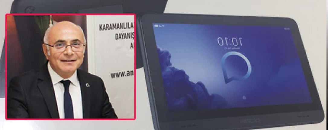 KAREV'den Karaman'da Bulunan Öğrencilere Tablet