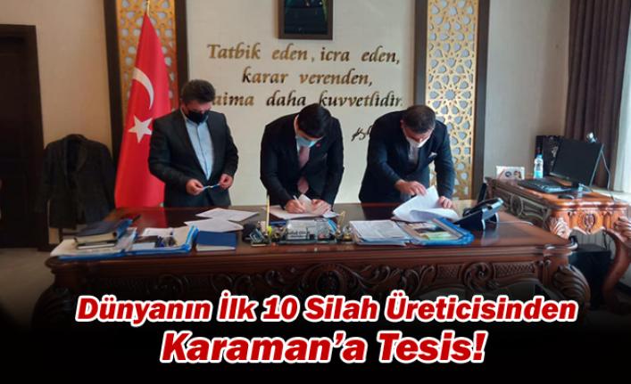 Dünyanın İlk 10 Silah Üreticisinden Karaman'a Tesis!