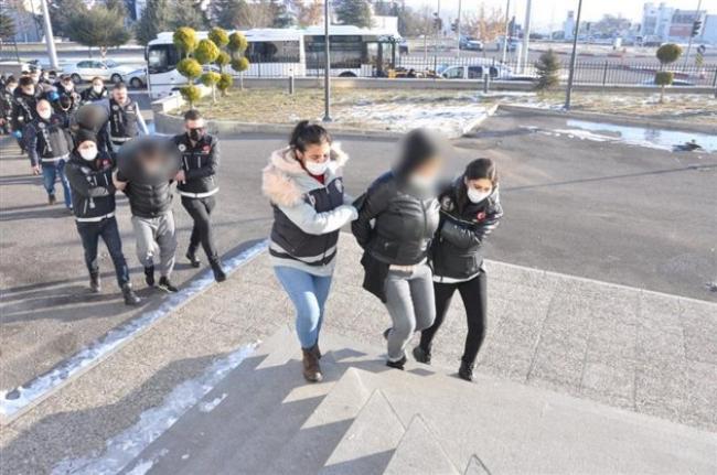 Karaman'da Uyuşturucu Operasyonunda 31 Tutuklama