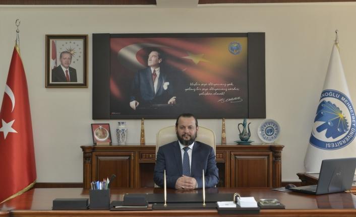 Rektör Akgül 10 Ocak Çalışan Gazeteciler Gününü Kutladı